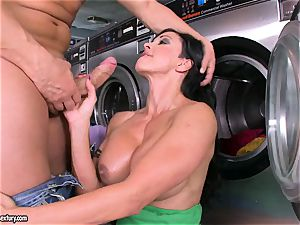 insane whore pleasure buttons fellates a thick jizz-shotgun before getting her cunny jammed with pink cigar
