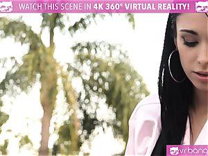 VR BANGERS-Jackie knob Deep labia rubdown