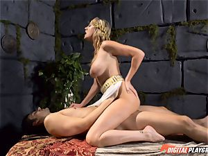 Brett Rossi knows how to heal an eager schlong