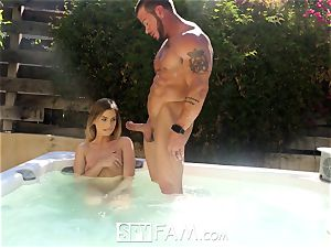 SpyFam Step brother and step step-sister Sydney Cole nailing