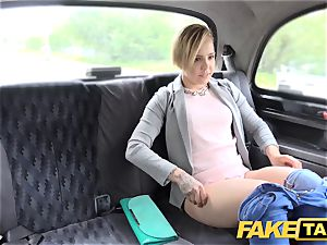 fake cab ultra-cute small nubile gets free ride