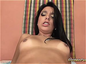 Her first-ever assfuck and gigantic facial cumshot