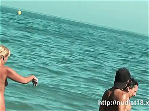 bare beach hidden cam film spectacular bum women nudist beach