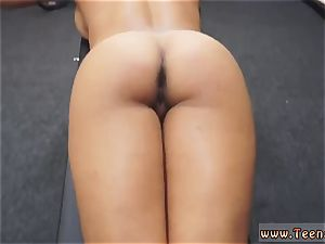 white in my bootie muscular dame opens up Eagle For Cash!