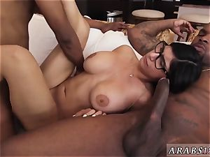 French arab feet and man tear up maid My massive dark-hued three way