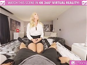 VRBangers.com-MILF is jamming a electro-hitachi in her labia