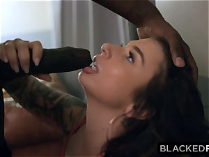 BLACKEDRAW bodacious hottie penetrates bbc rock hard On first date